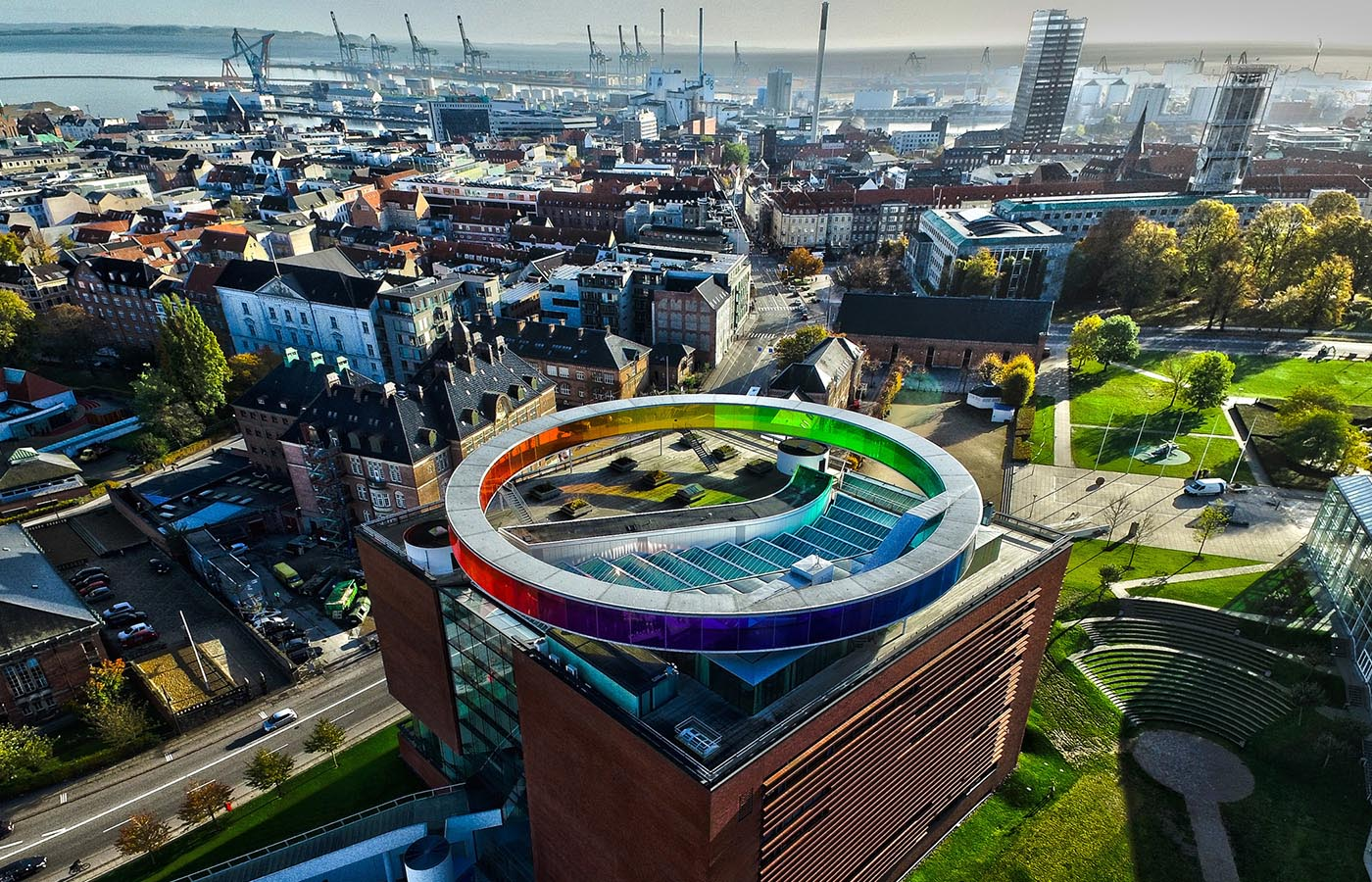 Aarhus aims to become carbon neutral by 2030. Image credit - Dennis Borup