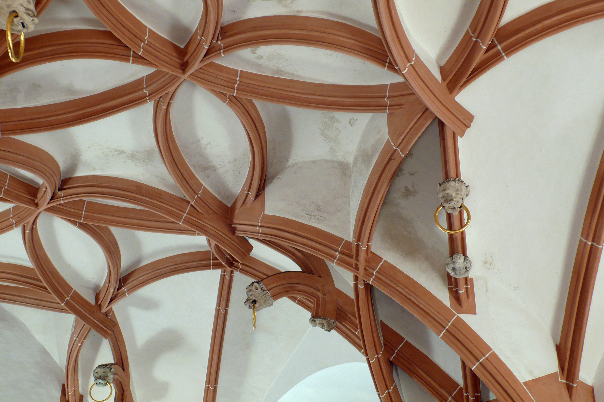 Craftsmen and technicians from the Strasbourg Cathedral restoration workshop replicated the medieval process behind making at vaults at St. Anne's Church in Annaberg, Germany. Image credit - María José Ventas