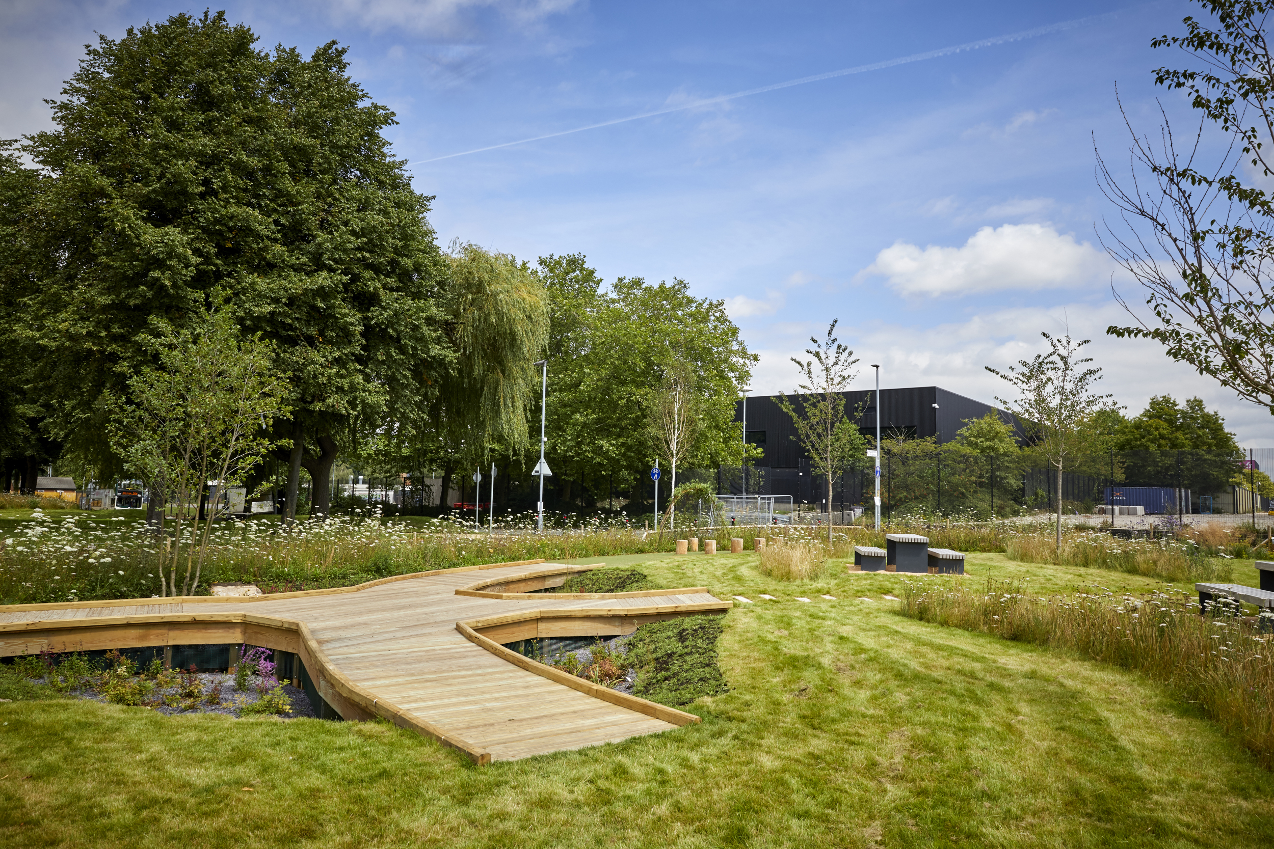 The ultimate goal of GrowGreen is to develop a toolkit that will be used by other cities around the world to implement such strategies to combat the effects of climate change. Image credit - Manchester City Council