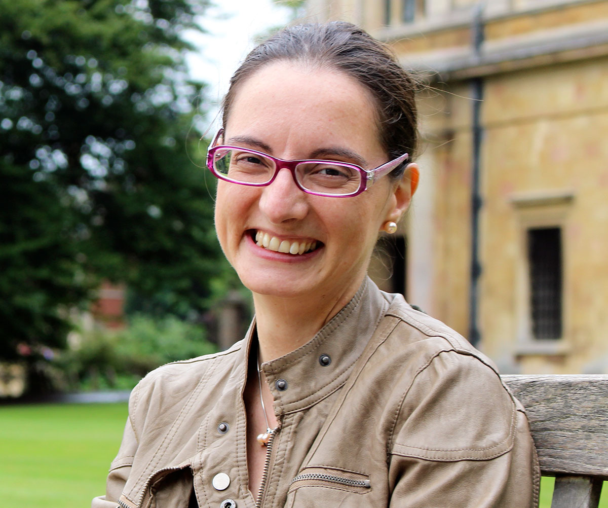 Professor Cecilia Mascolo at the University of Cambridge, UK, hopes her coronavirus sounds app could provide the data needed to build a quick and cheap Covid-19 screening test in the future. Image credit - Salvatore Scellato