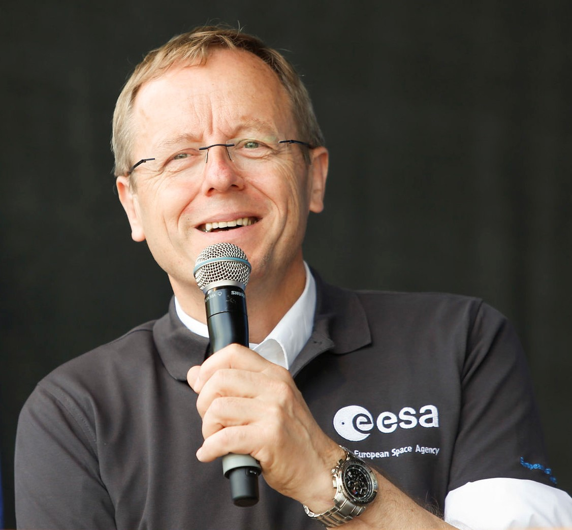 Jan Wörner says that discovery is in humans' DNA. Image credit - ESA/Sabine Grothues, licenced under CC BY-SA 3.0
