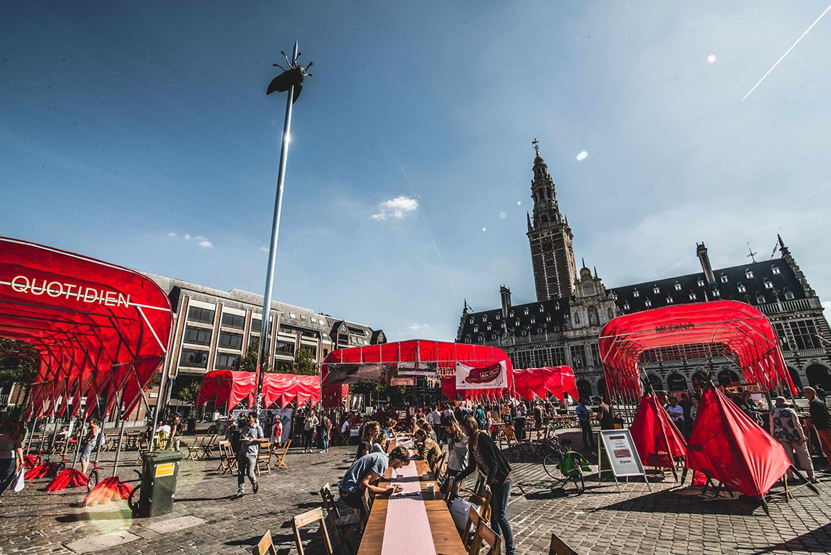 Leuven is home to one of the top ranked universities in the world. Image credit - Willem Govaerts