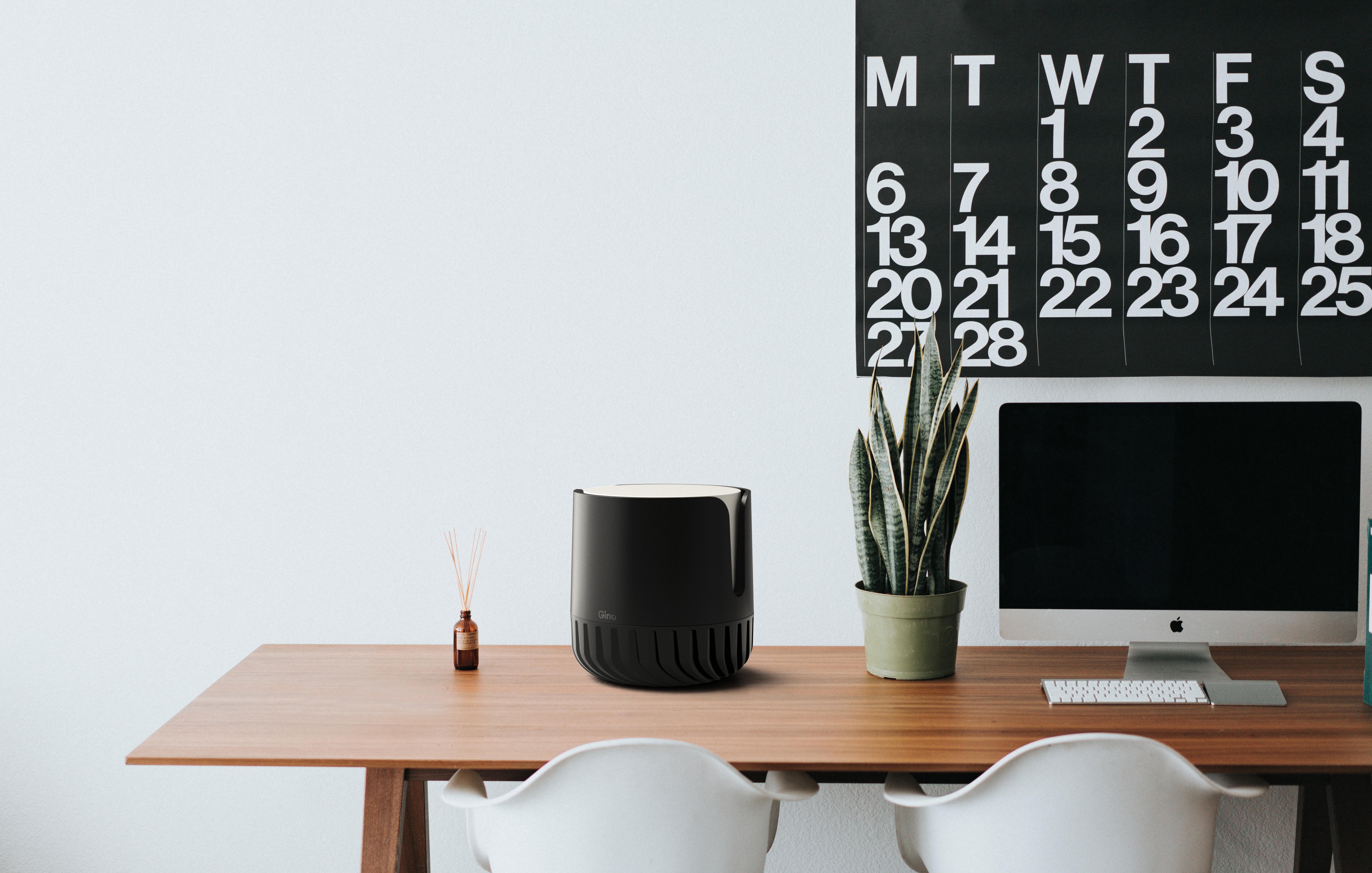 产生冠状病毒的涂层的一种应用是用于家庭和办公室的陶瓷空气过滤器。  图片来源:智能分离