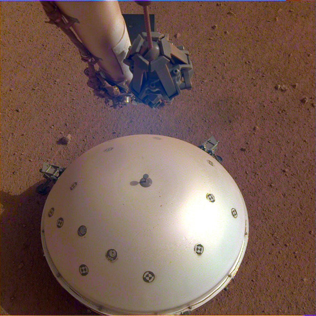 Since researchers landed a seismometer on Mars in 2018 as part of NASA's InSight mission, it has recorded around 500 seismic events on the planet. Image credit - NASA/JPL-Caltech