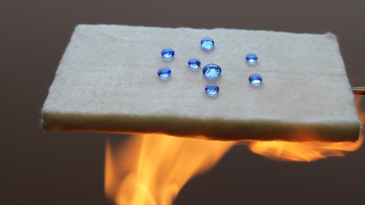 French company Keey Aerogel can produce its aerogel thermal insulation at around half the cost by extracting silica from waste concrete rather than using new silica. Image credit - Keey Aerogel
