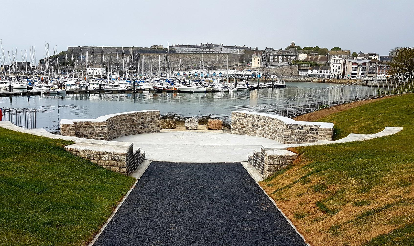 A new coastal amphitheatre in Plymouth, UK, will allow school children to spend more time by the water. Image credit - BlueHealth