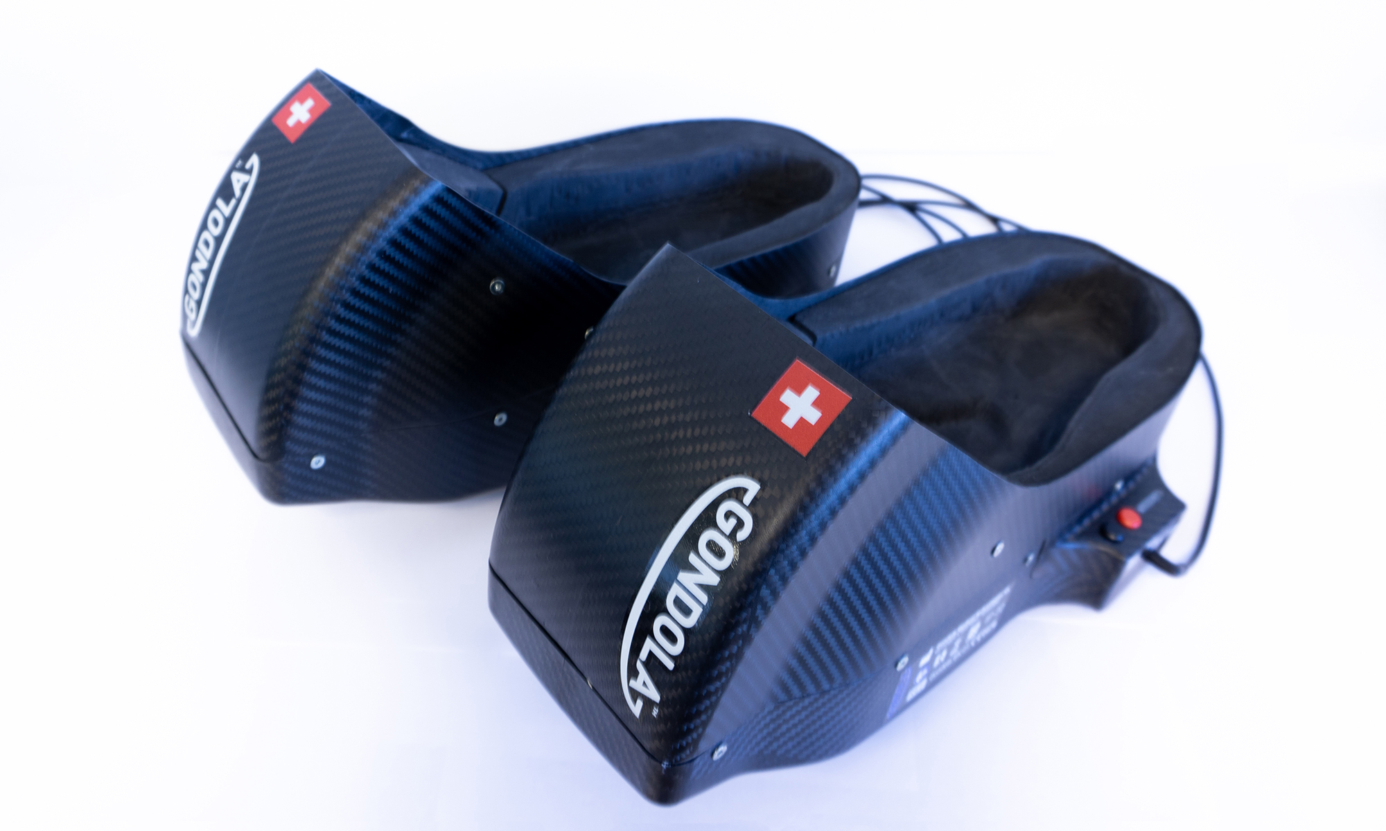 A portable device that stimulates two areas of the foot could help prevent freezing of gait episodes. Image credit: Gondola MedTech SA