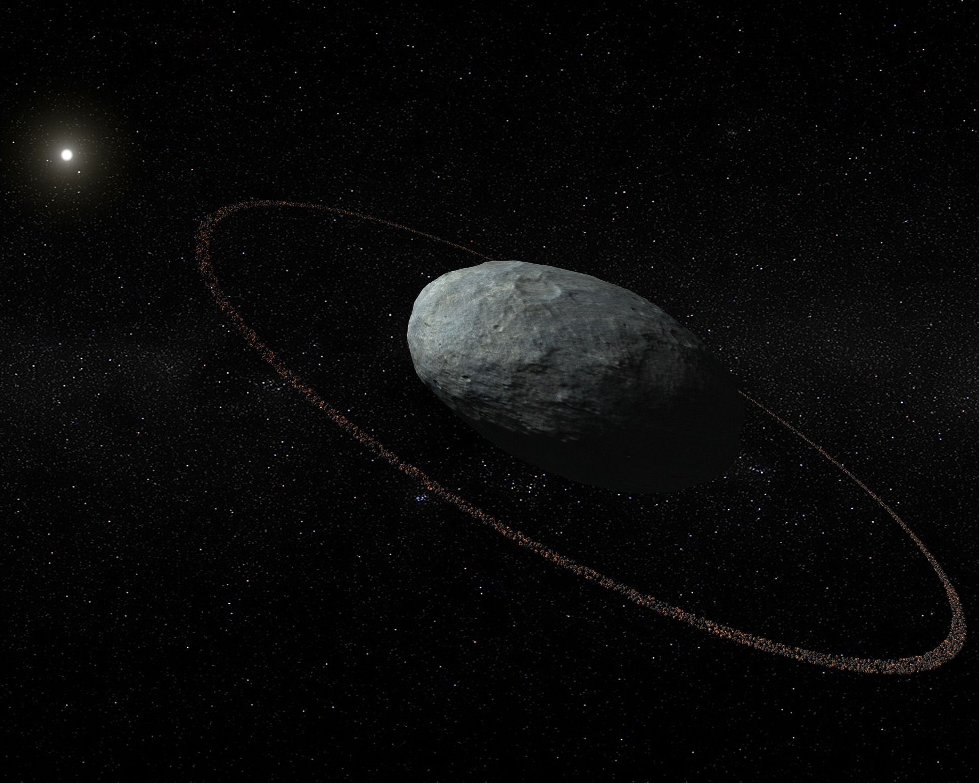 Astronomers discover ring around dwarf planet Haumea ...