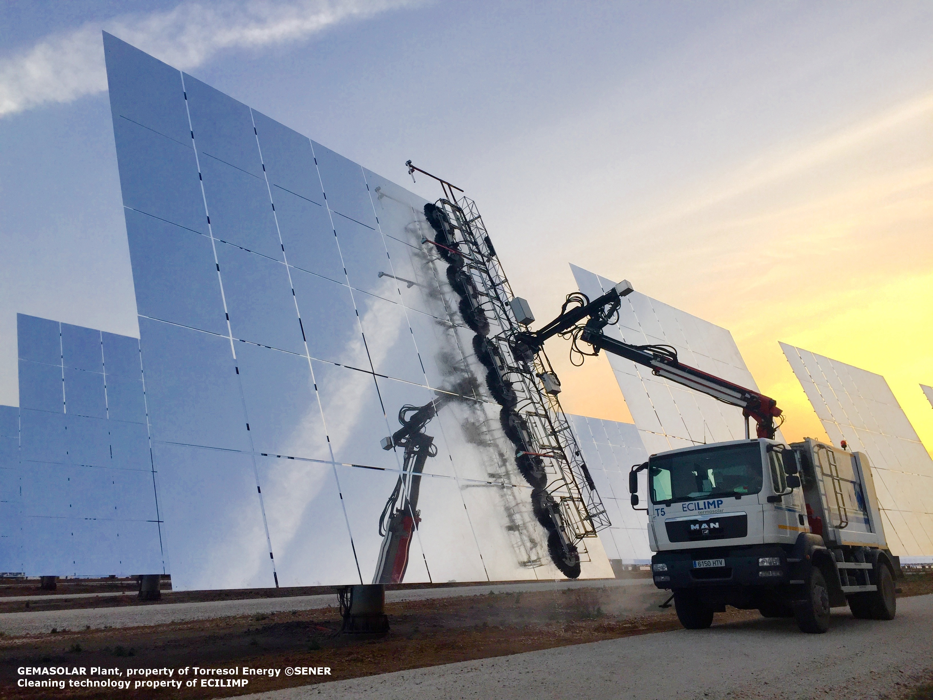 Quenching the thirst of concentrated solar power | Horizon