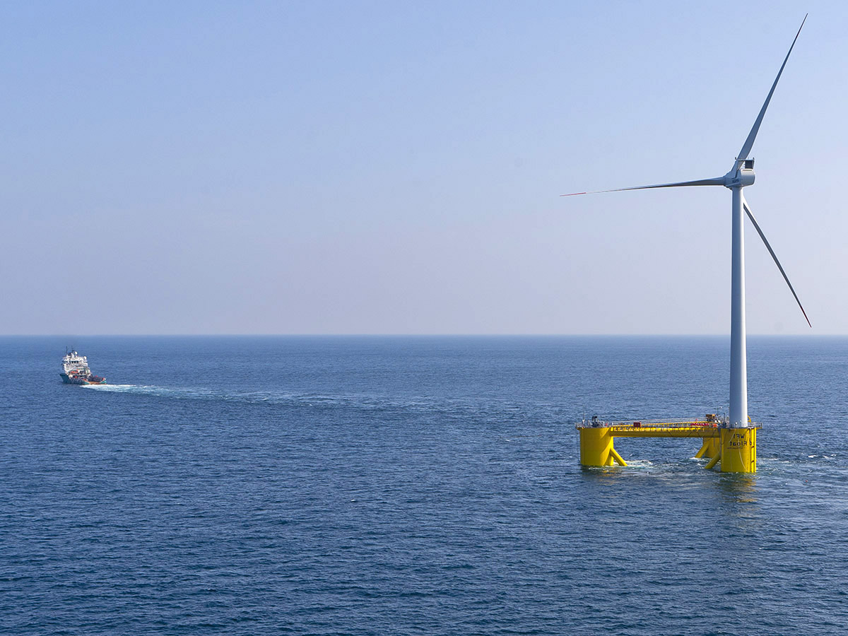 Offshore wind farms to test business in deep water | Horizon: the EU