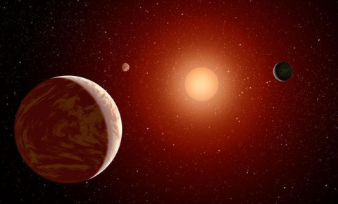 Understanding more about the composition and behaviour of exoplanets could help us determine whether they contain life. Image credit: NASA/JPL-Caltech