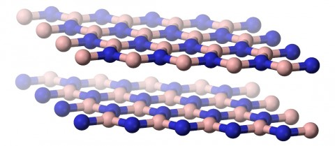 Atomically thin materials can be stacked on top of each other to create matter with remarkable physical properties. Credit: public domain