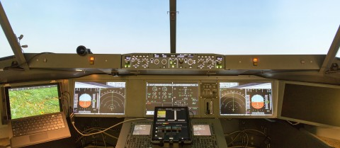 Intelligent autopilots could make flying easier for the crews and allow them to undertake on-board training. Image credit - A-PiMod/ DLR