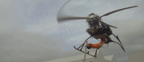 An aerial robot designed by the ARCAS project. Image courtesy of the ARCAS project