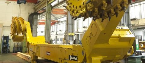 An automated mining machine. Image courtesy of Euracoal.