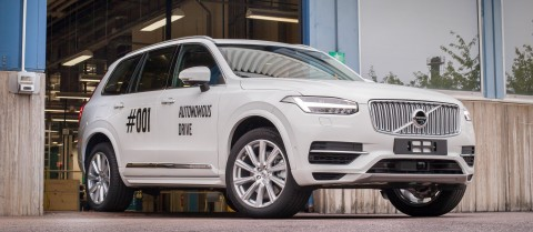 Level 3 automation, where the car handles all aspects of driving with the driver on standby, is being tested in Sweden. Image courtesy of Volvo cars