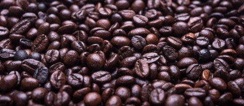 Recycling old coffee waste can help create environmentally friendly inks. Image credit - 'A lot of coffee beans' is licenced under CC-SA 1.0