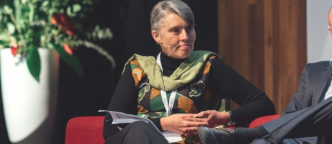 Citizens should be more involved in the Intergovernmental Panel on Climate Change's discussions, according to Dr Debra Roberts. Image credit: Visuele Notulen/ Michèle Giebing