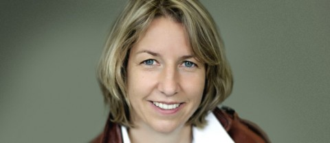 Dr Saskia Biskup, the first-prize winner of the EU Prize for Women Innovators 2014.