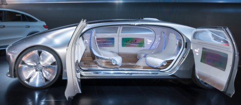 How will we get to the point when a self-driving car will pick passengers up at home and take them to their destination without any input? Credit: Shutterstock/Steve Lagreca