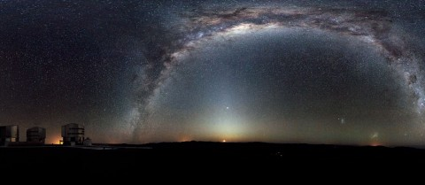 The EU's Very Large Telescope in Chile is the world's most advanced visible light observatory. Image: ESO/H.H. Heyer