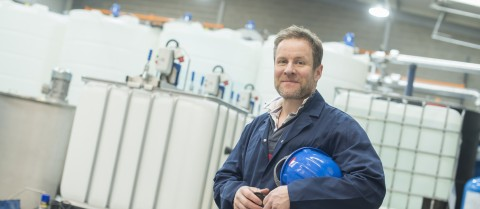 University of Nottingham researchers have created a reactor capable of producing over 1 000 tonnes of nanoparticles a year. Image courtesy: Prof Ed Lester