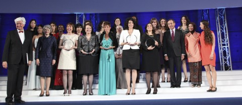 For the past 15 years L'Oréal and UNESCO have bestowed awards specifically recognising women scientists © CAPA Pictures for L'Oréal Foundation