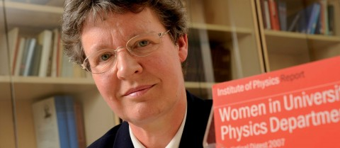 Professor Jocelyn Bell Burnell is a UK astrophysicist and a campaigner for the cause of women in science. © IOP