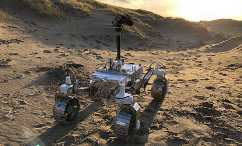 The LUVMI rover will be sent to the moon to inspect its water ice, and chemicals in its crust and atmosphere. Image credit - LUVMI consortium