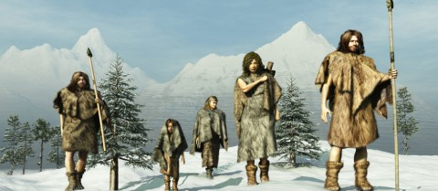 The last ice age is associated with a major demographic bottleneck in Europe. Image: Shutterstock/ Esteban De Armas