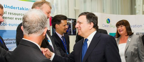 The first calls for research proposals were announced at an event in Brussels on 9 July which included European Commission President José Manuel Barroso and European Commissioner for Research, Innovation and Science, Máire Geoghegan-Quinn. © European Commission