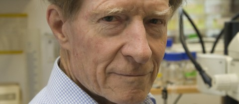 Professor John B. Gurdon was the joint winner of the 2012 Nobel Prize in Physiology or Medicine © Gurdon Institute