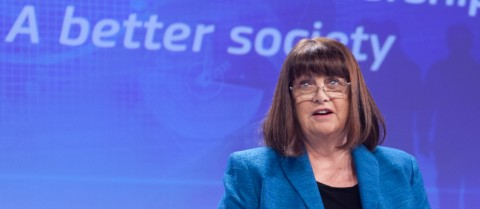 Máire Geoghegan-Quinn, European Commissioner for Research, Innovation and Science, announced the new funding during a news conference in Brussels on 11 December.