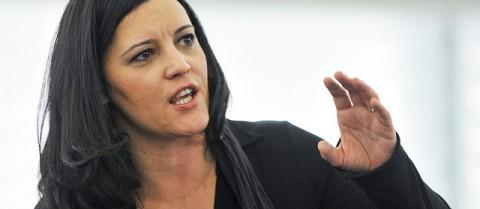 Marisa Matias, MEP and member of the GUE/NGL group © European Union 2007PE-EP