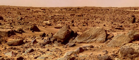 Astronauts need faster spacecraft, better radiation protection and heat shields before they can enjoy the Martian landscape in person. Image Credit: NASA/JPL
