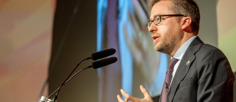 European Commissioner for Research, Innovation and Science, Carlos Moedas, said that the public needs to trust scientists to help determine fact from fiction. Credit: Matt Wilkinson for ESOF 2016