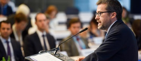 Carlos Moedas, European Commissioner for Science, Research and Innovation, said the public is no longer willing to accept scientific advice on trust in a time when contradictory information is available at the touch of a button. Image courtesy of the European Union/ Jennifer Jacquemart, 2016