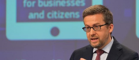 Carlos Moedas, European Commissioner for Research, Science and Innovation, has championed Open Science. Image courtesy of the European Commission