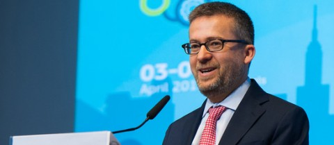 European Commissioner Carlos Moedas says that we need to invent, create and guide the future of connected and automated transport. Credit: Connected and Automated Driving conference