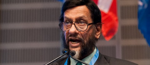 According to Dr Rajendra Pachauri EU research and development should be directed towards both climate change adaptation and mitigation. Photo courtesy of IPCC