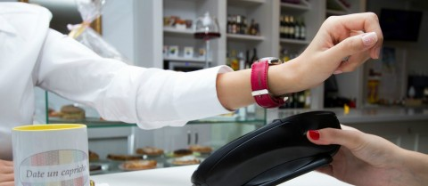 New contactless payment systems are paving the way to a cashless society. Image courtesy of Wetech