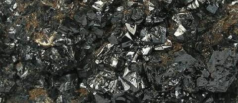 Perovskites are materials that have the same crystal structure as calcium titanium trioxide. Photo courtesy Rob Lavinsky, iRocks.com