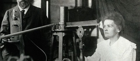 Today's scientists build on the work Marie Skłodowska-Curie and her husband Pierre carried out in the field of radiation. Image credit: 'Pierre and Marie Curie' is in the public domain