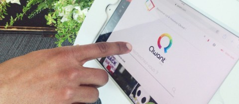 French search engine start-up Qwant has received an EU-backed loan to expand across Europe. Image courtesy of Qwant