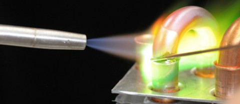 The SafeFlame torch could make metal joining much safer. Image: SafeFlame – courtesy of TWI Ltd