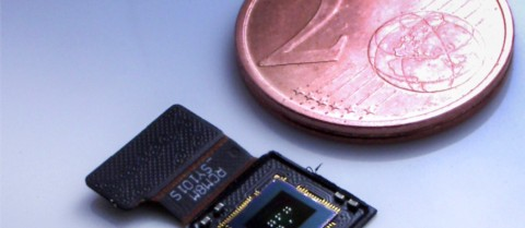 Tiny 3D-printed cameras could revolutionise medical technology such as endoscopes. Credit: University of Stuttgart