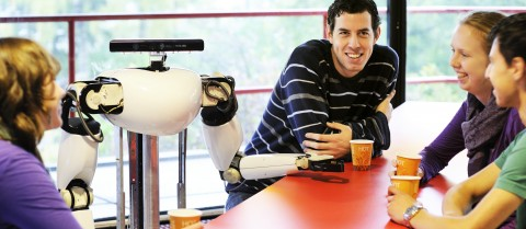 Robots could become part of everyday life. Image courtesy of the RoboEarth project