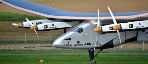 solar impulse clean energy airplane