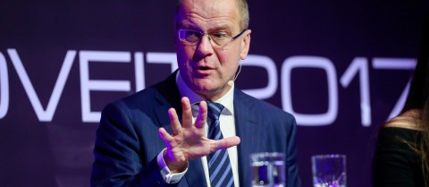 EU Commissioner Tibor Navracsics spoke on the importance of educating young people on the value of science. Image credit – Flickr/ EIT European Institute of Innovation and Technology