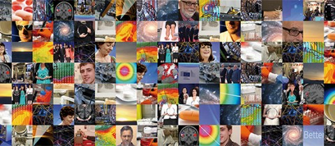 A montage image of the different science and research events covered by Horizon over the year.